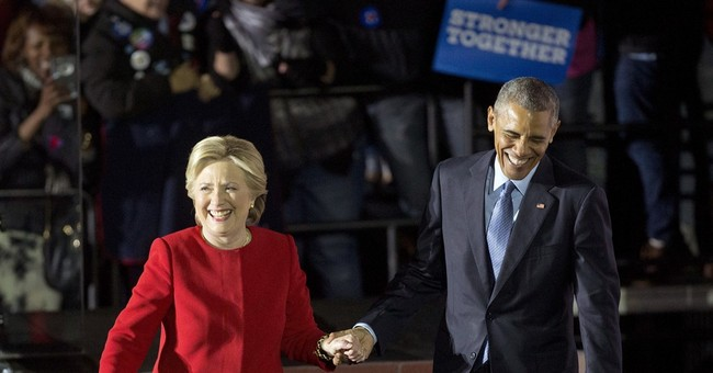 As campaign closes, the Obamas pass the torch to Clinton